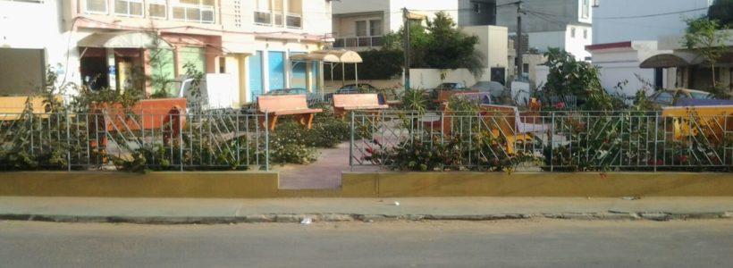 jardins publics à Dakar