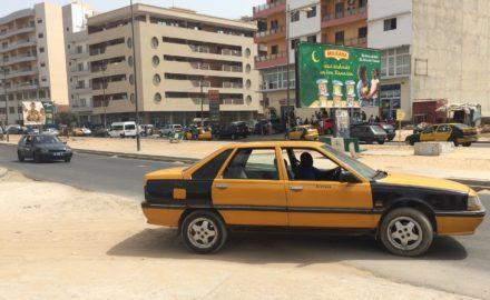 chauffeurs de taxi