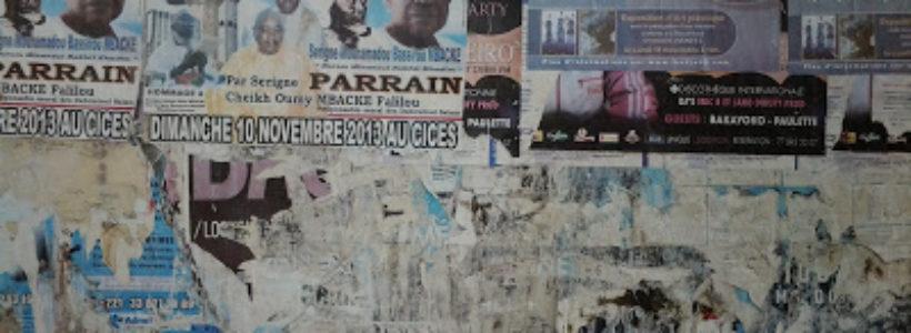 affichages sur les murs