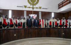 rentrée solennelle des cours et tribunaux